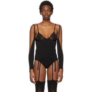 ISA BOULDER SSENSE Exclusive Black Triangle Cup Top