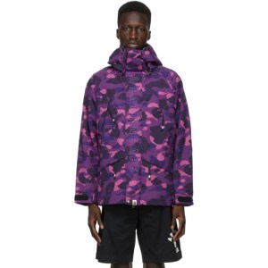 BAPE Purple Camo Snowboard Jacket