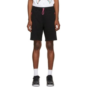 BAPE Black Interlock Shorts