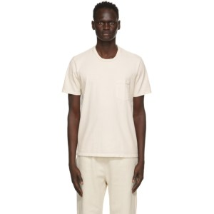 Les Tien Off-White Classic Pocket T-Shirt