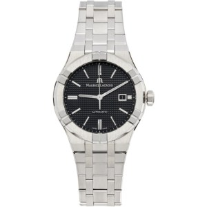 Maurice Lacroix Silver and Blue Aikon Automatic Watch