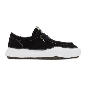 Miharayasuhiro Black Suede Original Sneakers