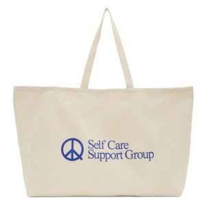 Museum of Peace and Quiet Beige Twill S.C.S.G. Tote