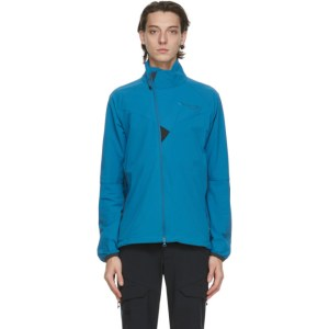 Klattermusen Blue Vanadis Zip Jacket
