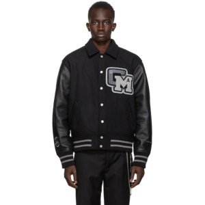 mastermind JAPAN Black C2H4 Edition Baseball Jacket