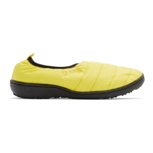 SUBU Yellow Packable Loafers