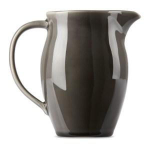 KINTO Grey Atelier Tete Edition Porcelain Pitcher, 1 L
