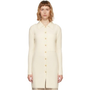 Lisa Yang Off-White Cashmere The Lydia Cardigan
