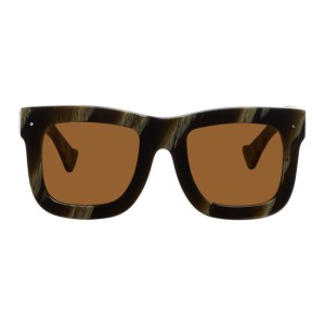 Grey Ant Brown Status Square Sunglasses