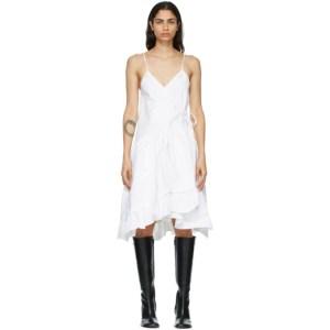 Kika Vargas White Elora Dress