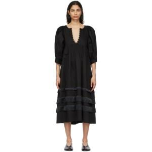 Kika Vargas Black Sophia Dress