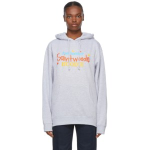 Saintwoods Grey Just Another Hoodie