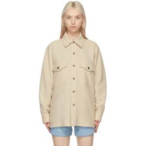 Isabel Marant Etoile Beige Faxon Jacket