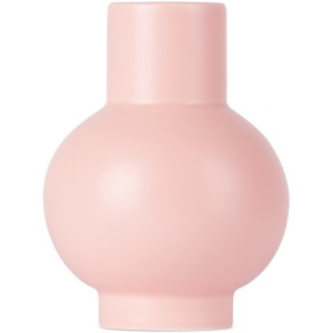 raawii Pink Earthenware Small Vase