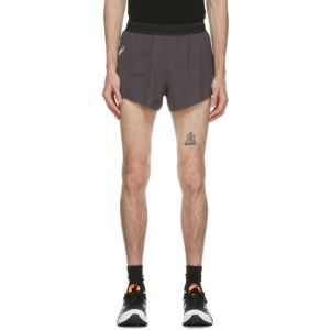 Soar Running Taupe Reflective Elite Race 4.0 Shorts