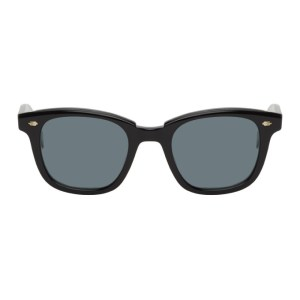 Garrett Leight Black Calabar Sunglasses