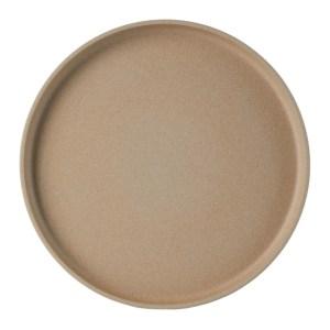 Hasami Porcelain Beige HP005 Plate