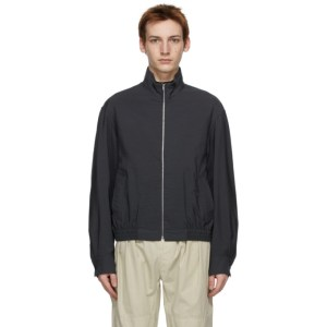 Lemaire Grey Light Wool Glazed Jacket