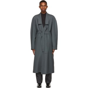 Lemaire Green Light Robe Trench Coat