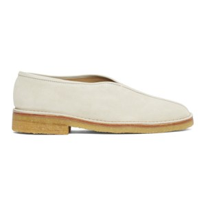 Lemaire Off-White Square Toe Slippers