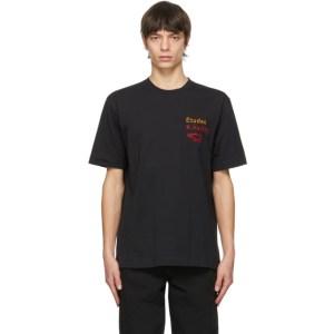 Etudes Black Keith Haring Edition Wonder Jumping Dogs T-Shirt