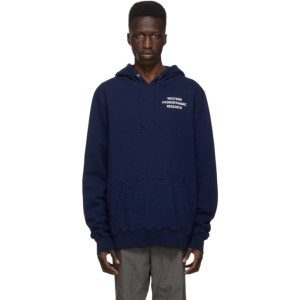 Western Hydrodynamic Research SSENSE Exclusive Blue Uniform Hoodie