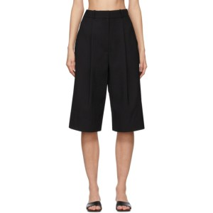 LOW CLASSIC Black Bermuda Shorts
