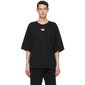M.A. Martin Asbjorn Black Logo T-Shirt