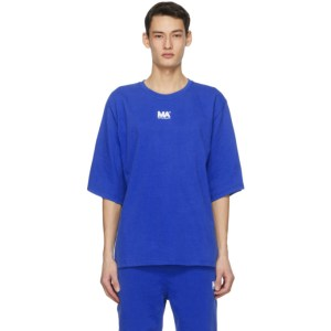 M.A. Martin Asbjorn Blue Logo T-Shirt