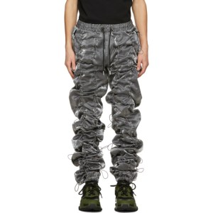 99% IS Silver and Black Gobchang Lounge Pants