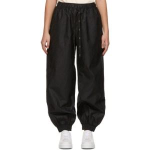 Fendi Black Forever Fendi Logo Lounge Pants