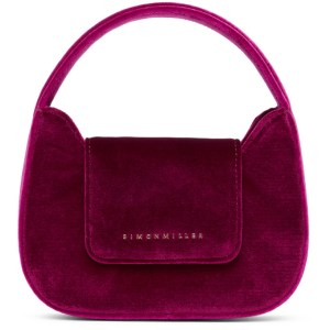Simon Miller Pink Velvet Mini Retro Bag