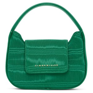 Simon Miller Green Moire Mini Retro Bag