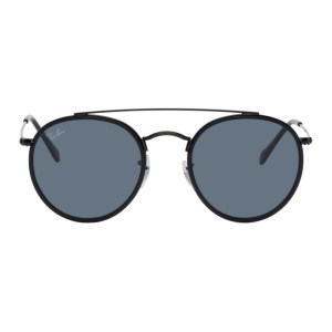Ray-Ban Black Double Bridge Sunglasses