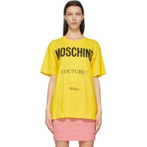 Moschino Yellow Couture T-Shirt