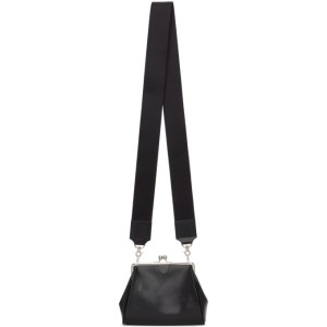 Ys Black Clasp Shoulder Bag