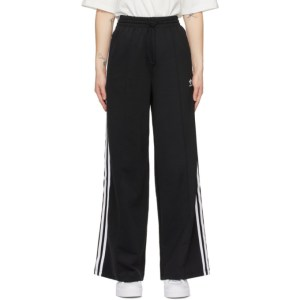 adidas Originals Black Adicolor Relaxed Lounge Pants