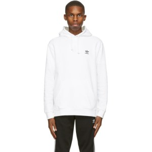 adidas Originals White Essential Hoodie