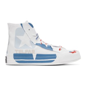 Telfar White Converse Edition Chuck 70 High Sneakers