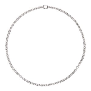 Tom Wood Silver Slim Ada Chain Necklace