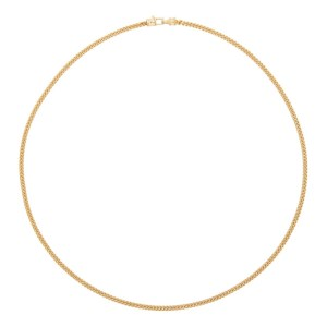 Tom Wood Gold Curb Chain M Necklace