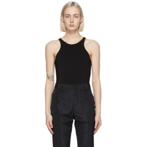 GAUCHERE Black Salome Bodysuit