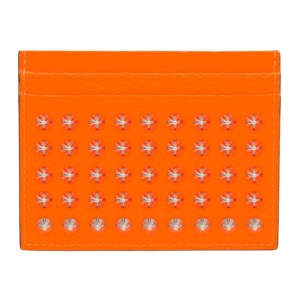 Christian Louboutin Orange Kios Card Holder