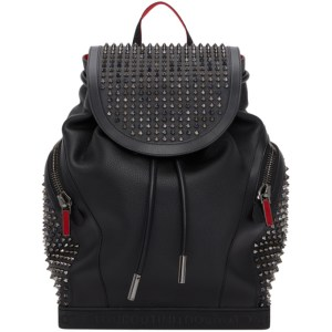 Christian Louboutin Black Explorafunk Backpack
