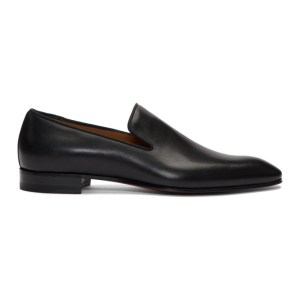 Christian Louboutin Black Dandelion Loafers