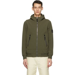 Stone Island Khaki Soft Shell-R E-Dye® Light Jacket