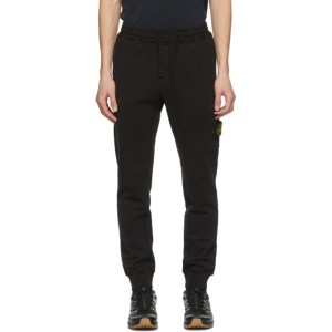 Stone Island Black Fleece Lounge Pants
