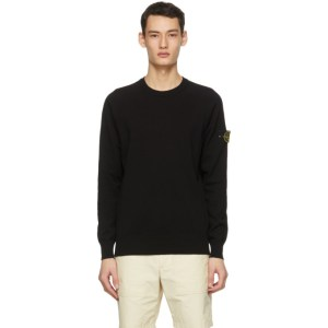Stone Island Black Knit Sweater
