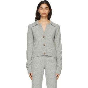Nanushka Grey Cade Cardigan