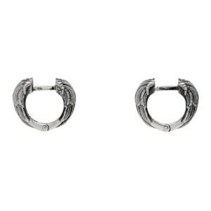 Emanuele Bicocchi Silver Wing Earrings